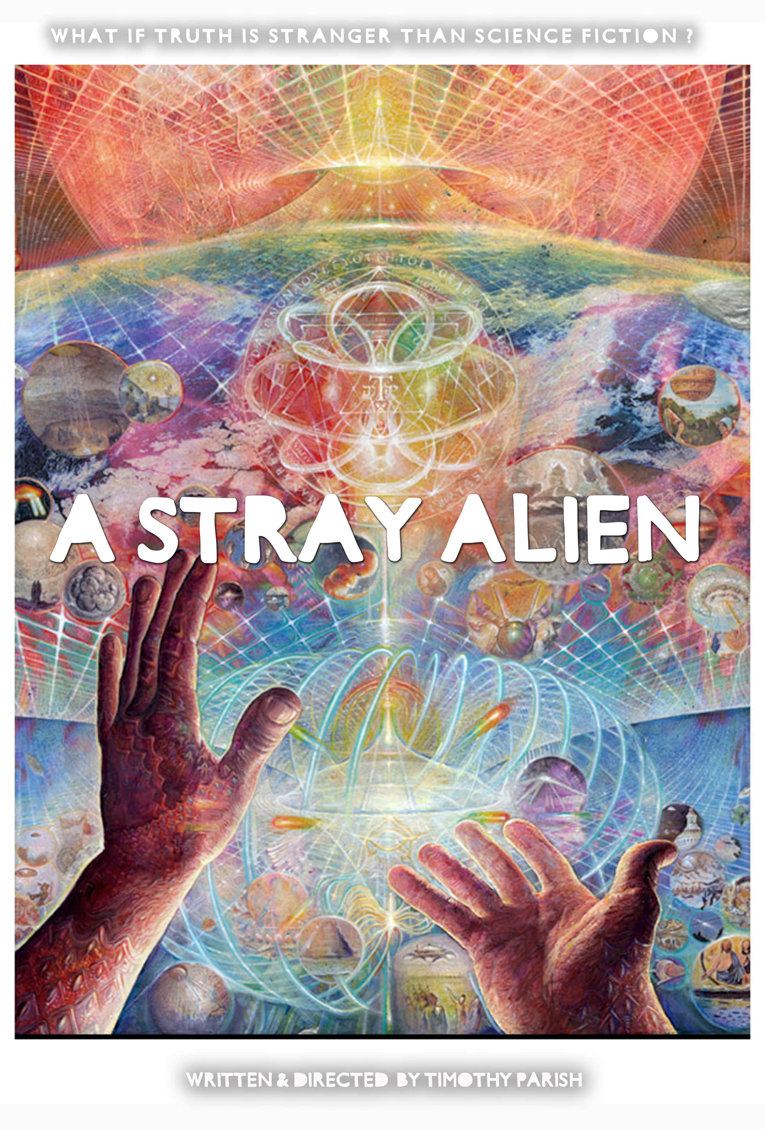 A STRAY ALIEN poster 2a